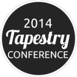 2014 Tapestry Conference Alternate Logo